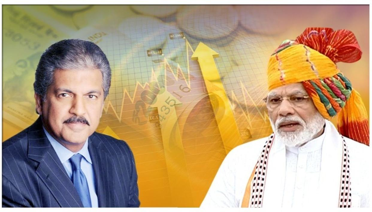 ANAND MAHINDRA RESPONDS TO PM MODI'S 'WEALTH CREATORS ARE THE NATION'S WEALTH, DON'T VIEW WITH SUSPICION' REMARK
