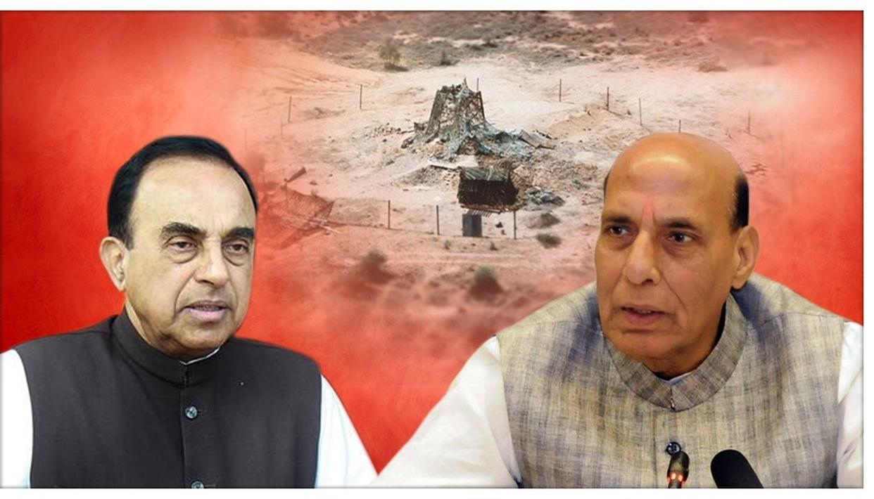 BJP MP SUBRAMANIAN SWAMY SAYS NUCLEAR 'NO FIRST USE' POLICY REVIEW NECESSARY, MAKES 1998 VS 2019 COMPARISON