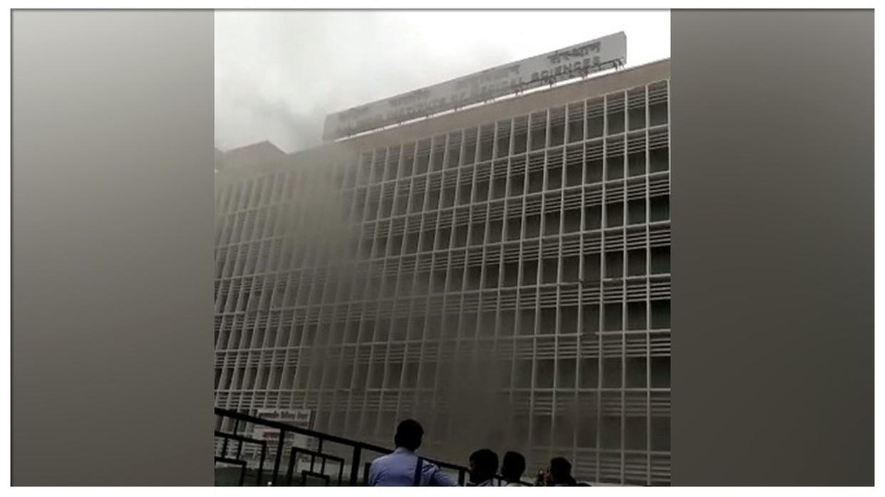 FIRE BREAKS OUT AT AIIMS IN NEW DELHI: LIVE UPDATES HERE