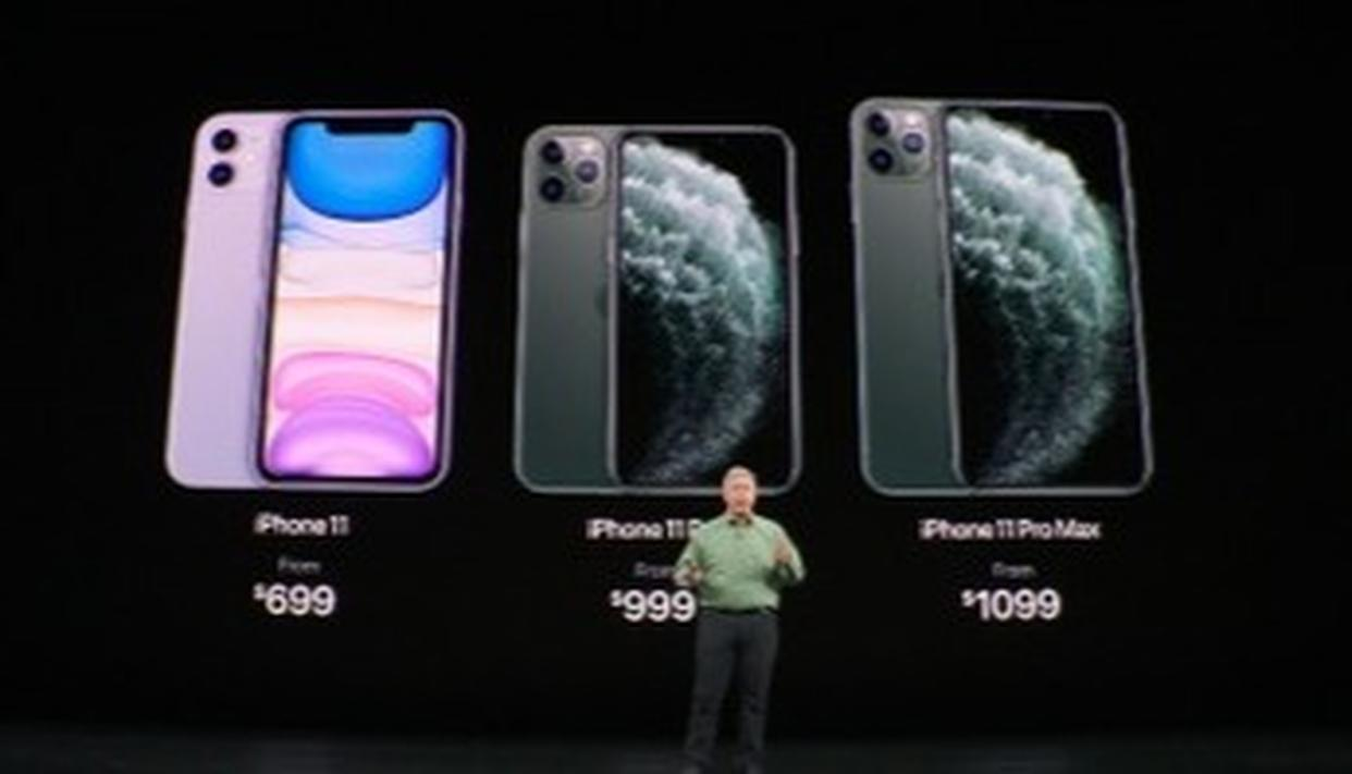 iPhone 11 ट्रिपल कैमरा तकनीक के साथ हुआ लॉन्च, जाने इसकी कीमत