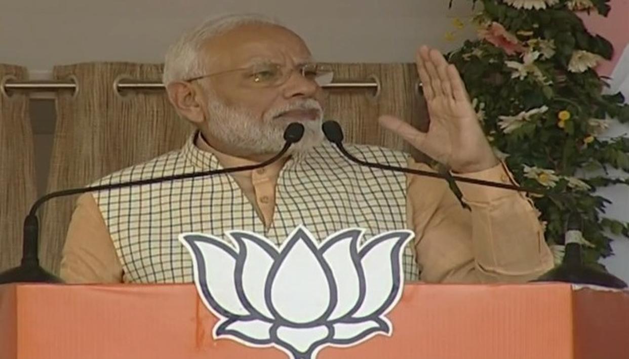मोदी ने कांग्रेस, झामुमो पर छल, स्वार्थ की राजनीति करने का आरोप लगाया
