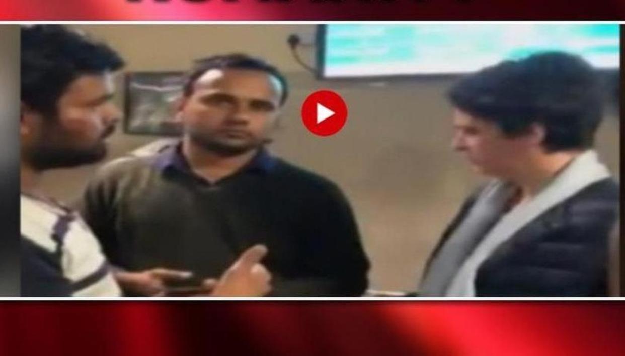 ABVP के घायल छात्र ने प्रियंका गांधी वाड्रा को सुनाई अपनी दास्तां, यूं मुंह मोड़ कर चली गईं: देखें VIDEO