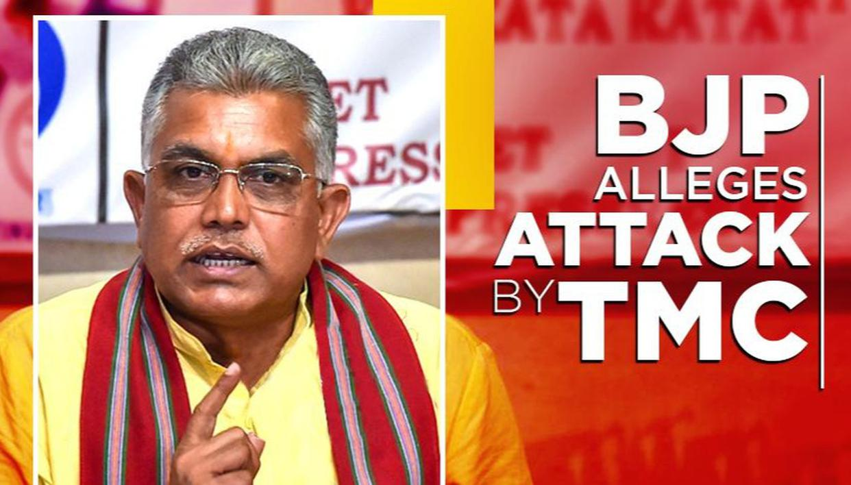 BJP BENGAL ALLEGES ATTACK BY TMC
