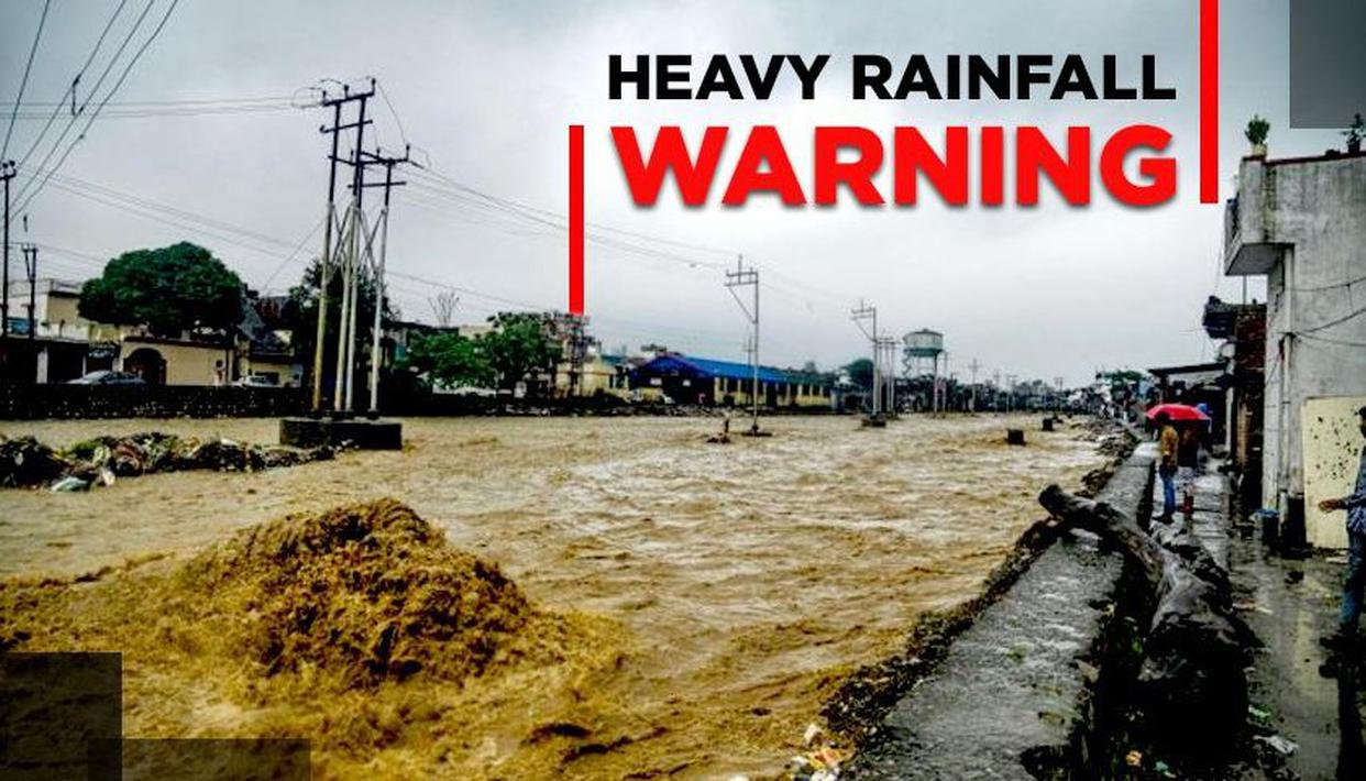 IMD ISSUES HEAVY RAINFALL WARNING