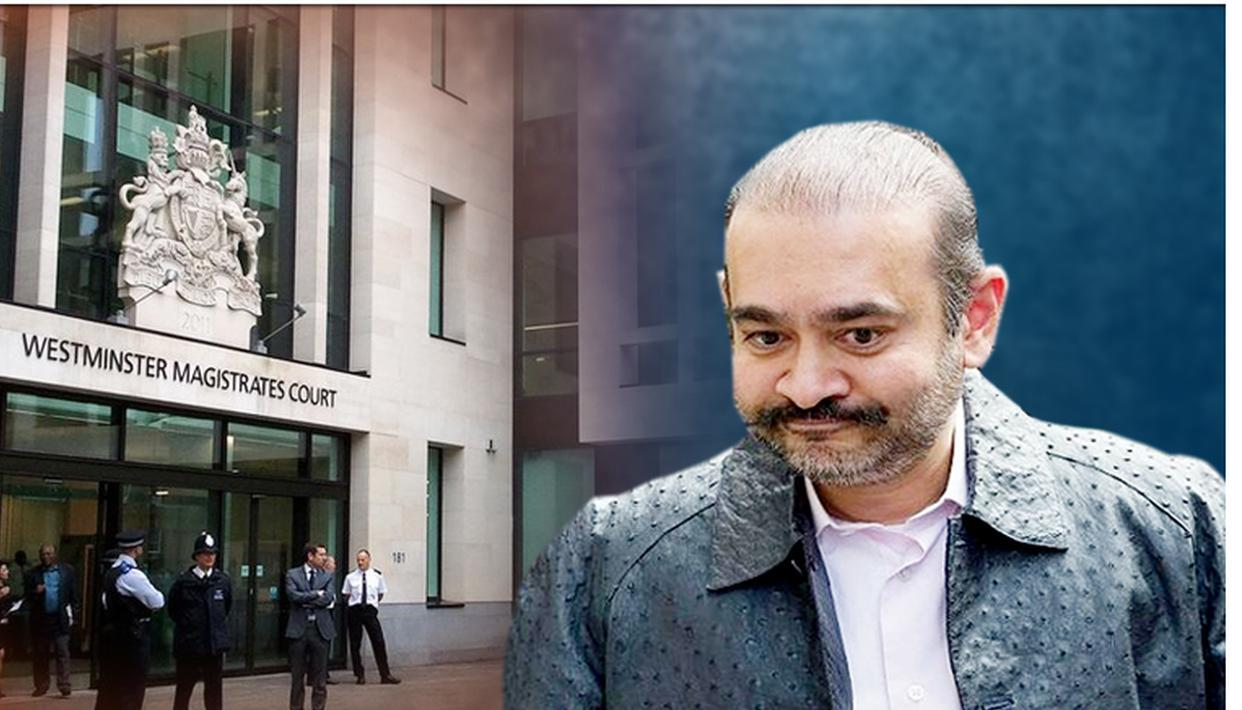 NIRAV MODI TO COME BEFORE UK COURT