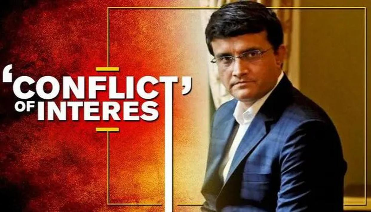 GANGULY IN 'CONFLICT OF INTEREST'