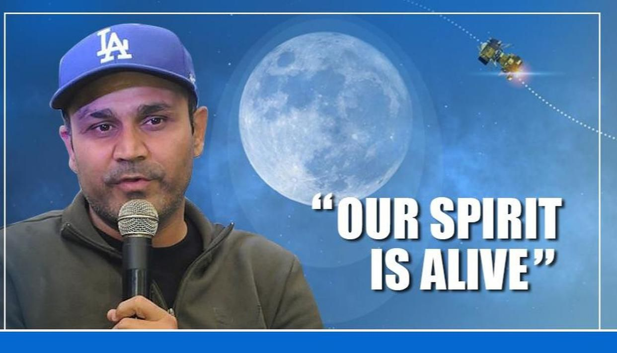 SEHWAG'S ODE TO ISRO