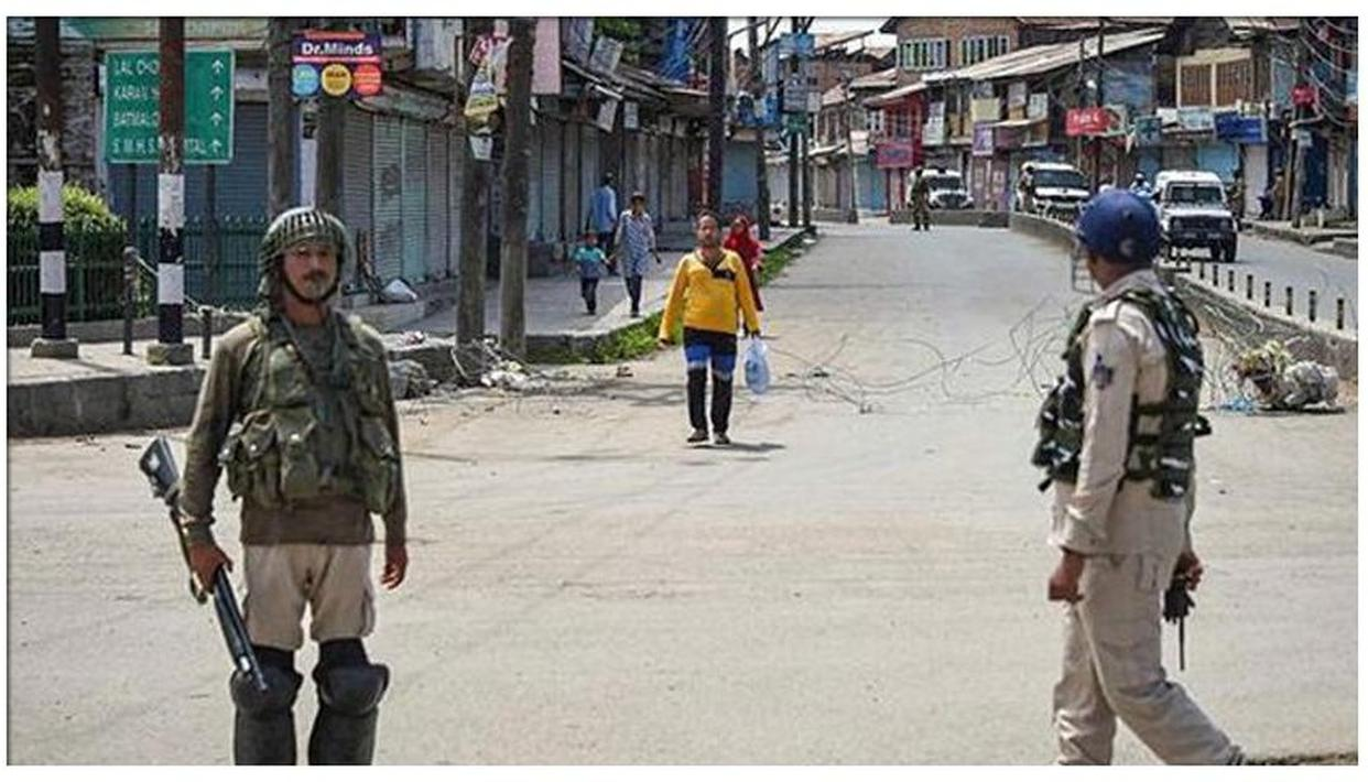 RESTRICTIONS LIFTED IN KASHMIR