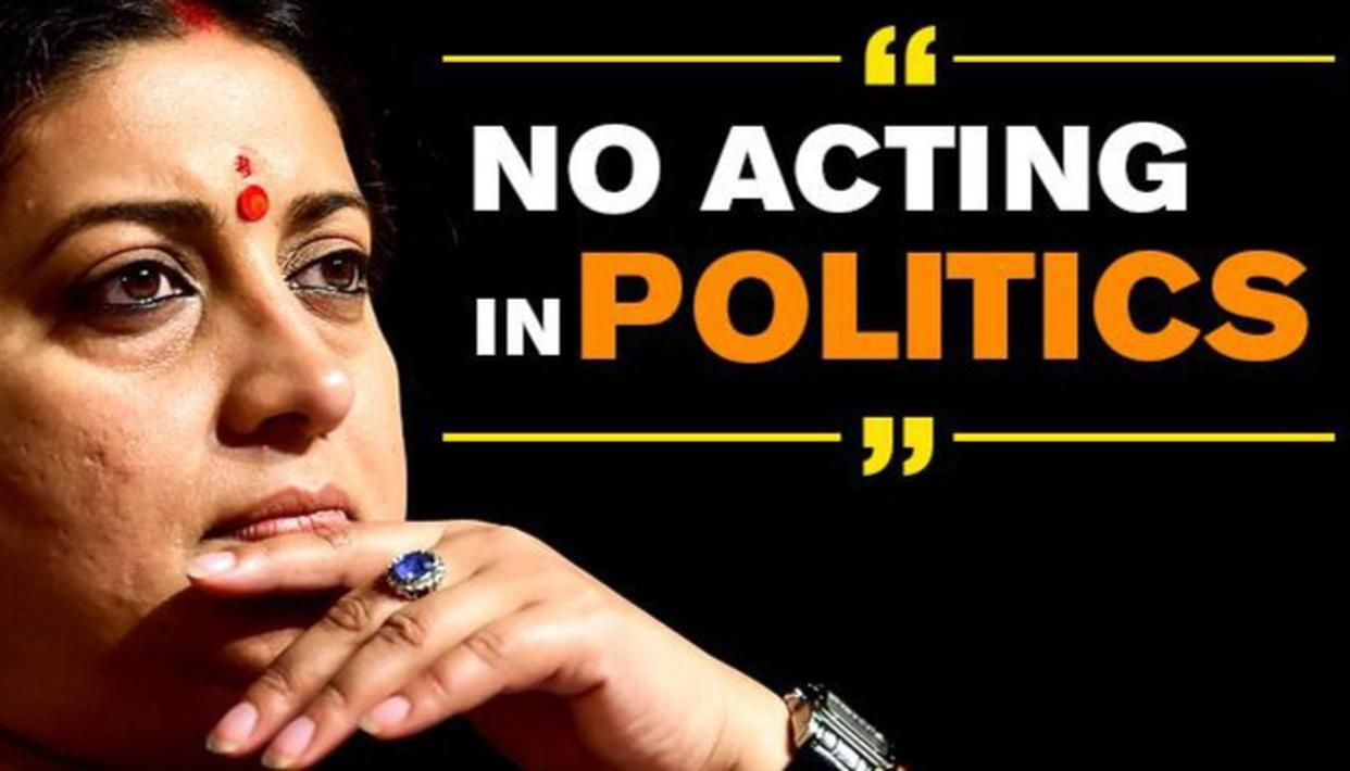 IRANI ON NOT INDULGING IN VOTE BANK