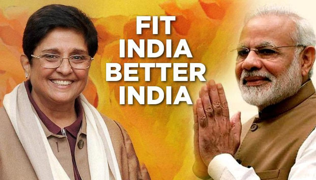 PM REACTS TO BEDI'S FIT INDIA VIDEO