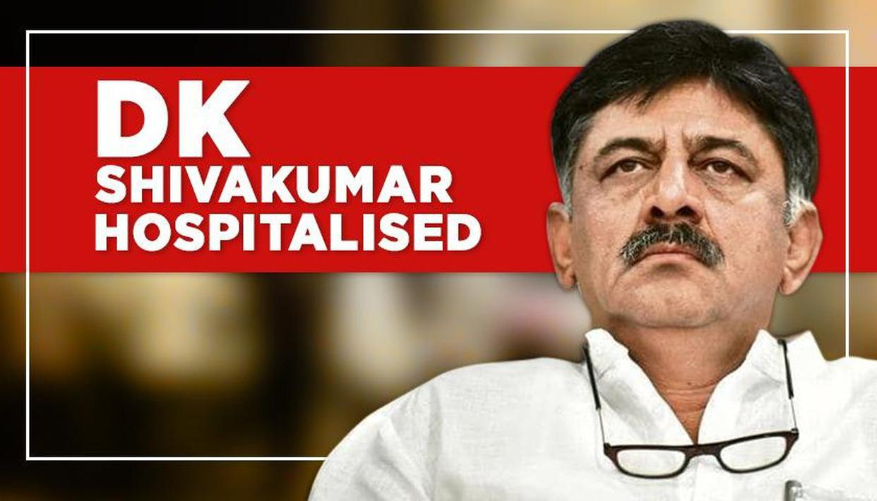 SHIVAKUMAR IN HOSPITAL AFTER ARREST