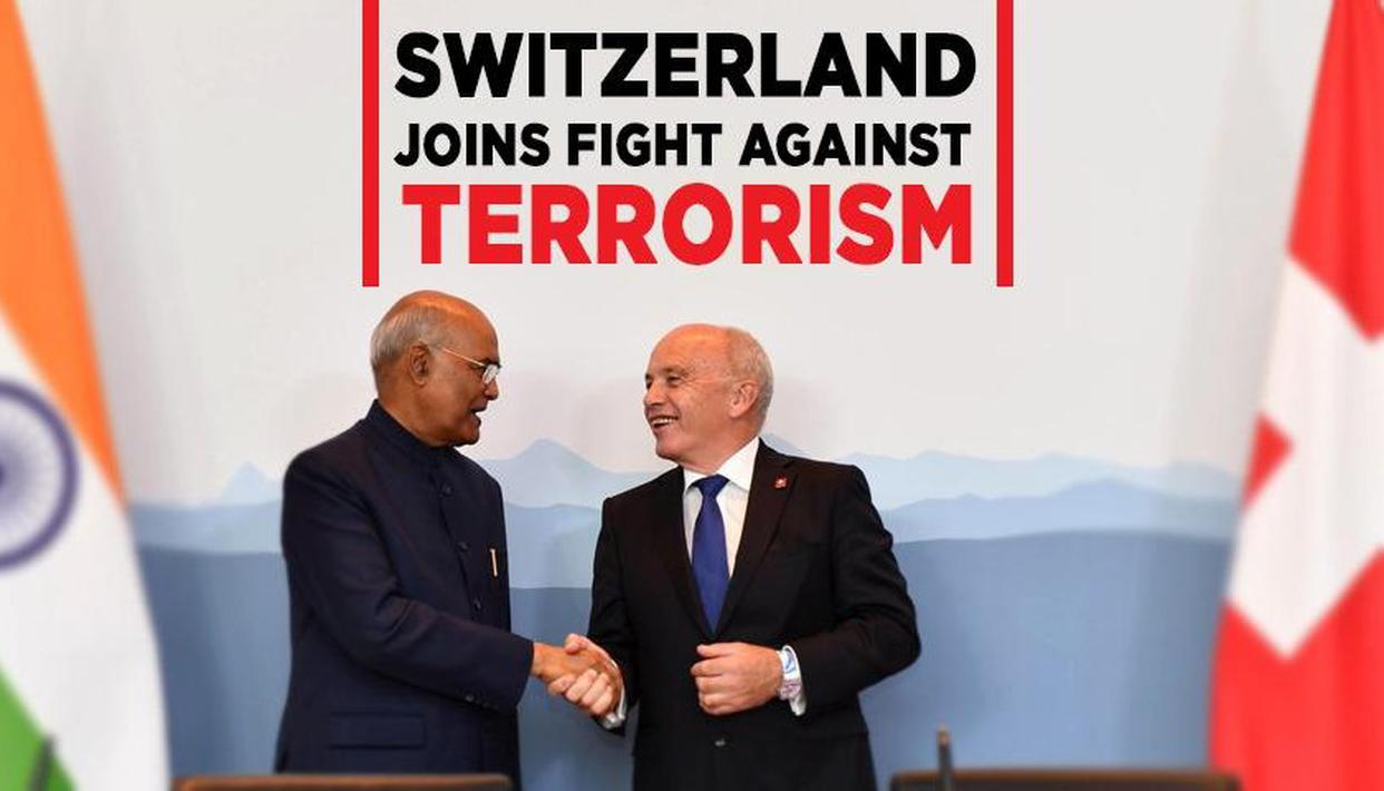 INDIA-SWITZERLAND AGAINST TERRORISM