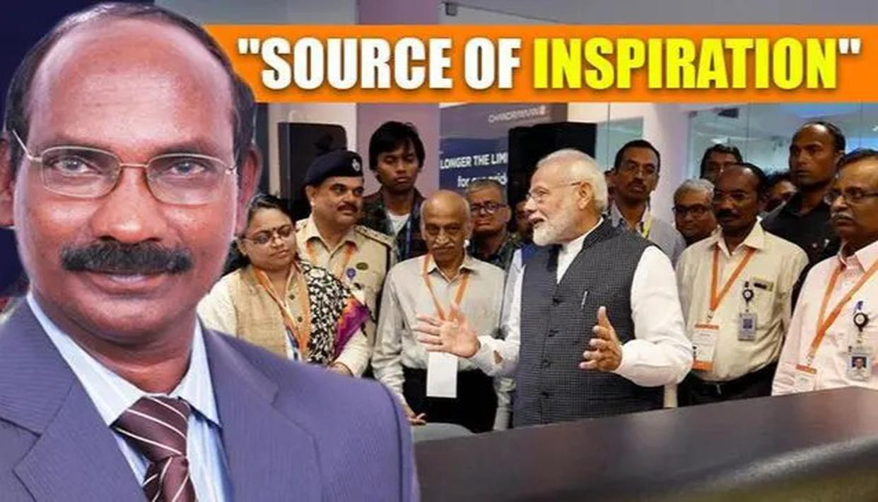 K SIVAN: PM 'SOURCE OF INSPIRATION'