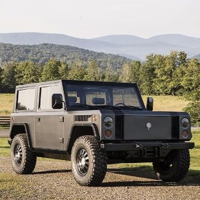 Bollinger B1 all-electric SUV breaks cover