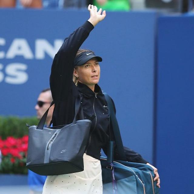 US Open: Sharapova says she is proud of her performance
