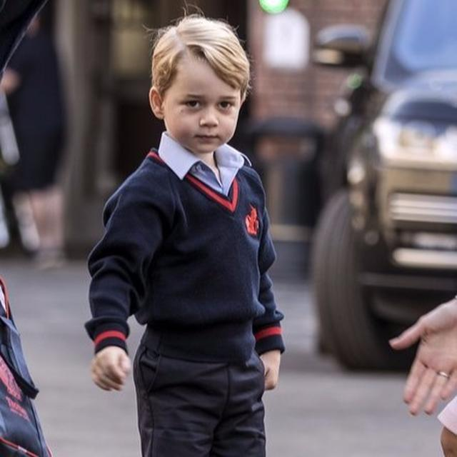 Prince George's first day 'a success'