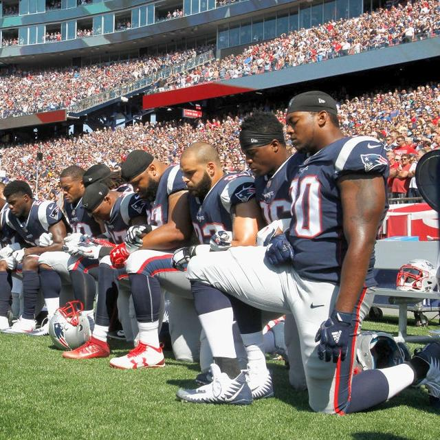 'take the knee' grips the NFL
