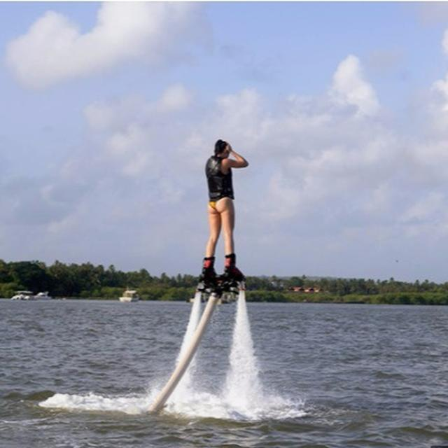 Here's Where You Can Try Flyboarding, The Latest Adventure Sport To Hit Goa