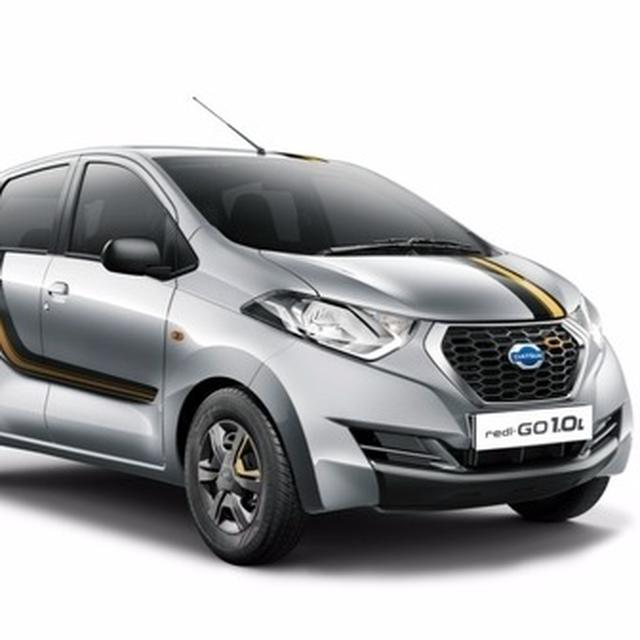 Datsun redi-GO 1.0 Gold launched at Rs. 3.69 lakh