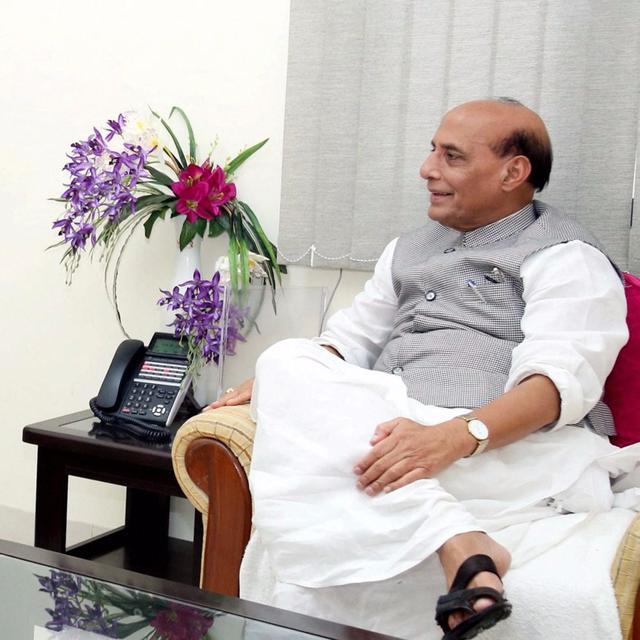 Rajnath meets Mehbooba