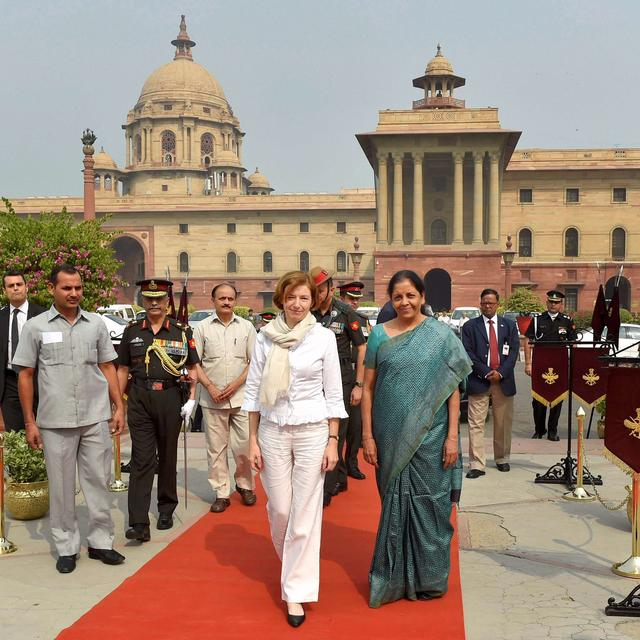 India, France discuss ways to ramp up strategic ties