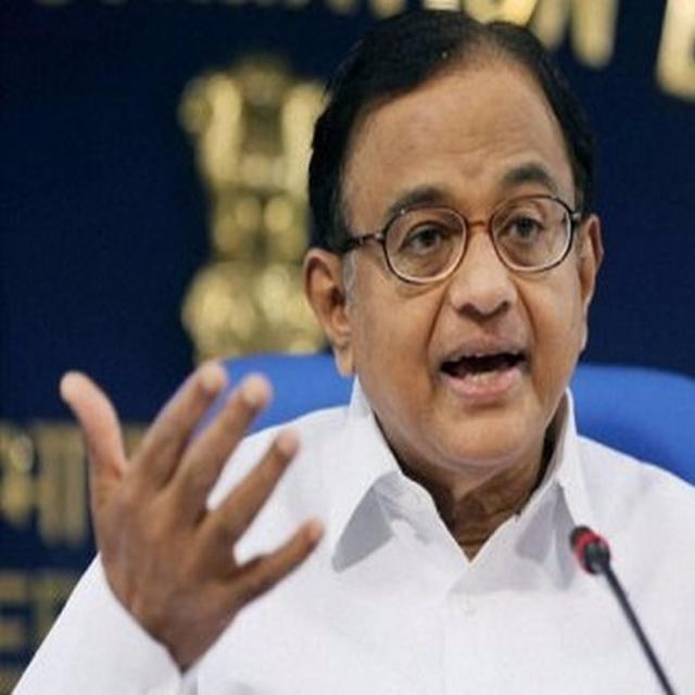 Chidambaram criticises PM Modi