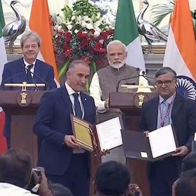 India, Italy against terrorism!
