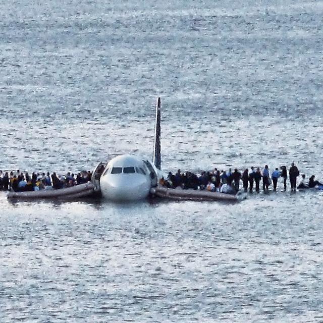 'Submerged plane'