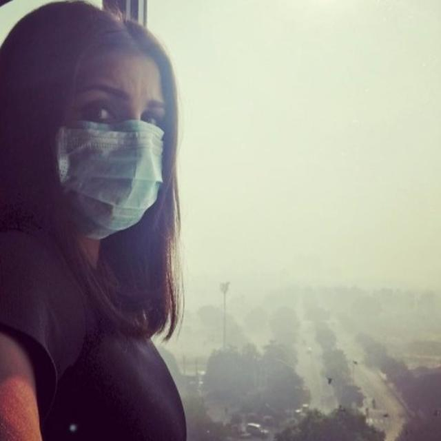 PARINEETI RAISES SMOG ALARM