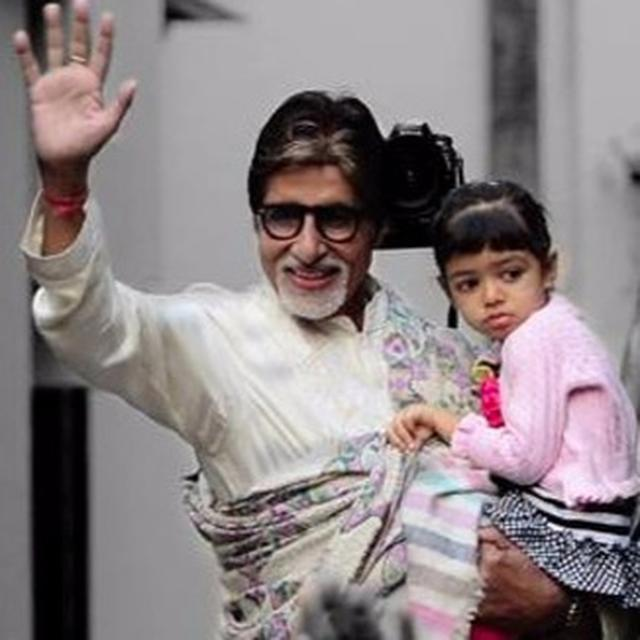 SR BACHCHAN PENS A NOTE FOR AARADHYA