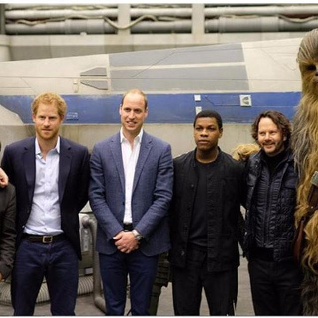 'STAR WARS' WITH A ROYAL TOUCH
