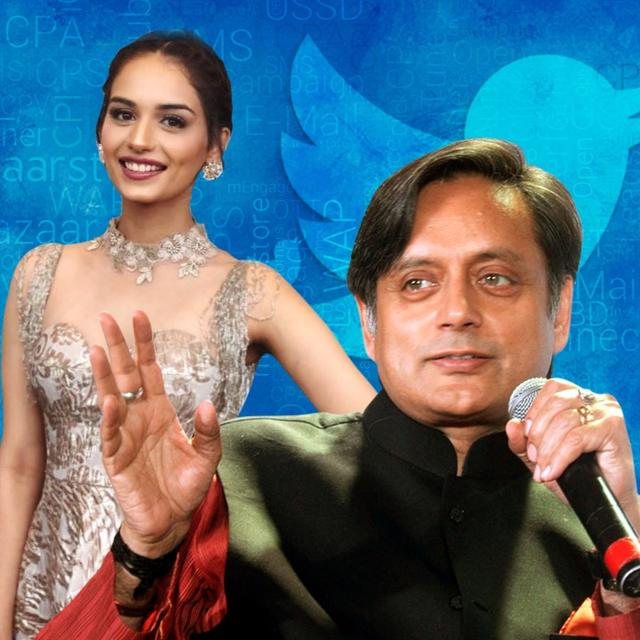 THAROOR MOCKS MISS WORLD