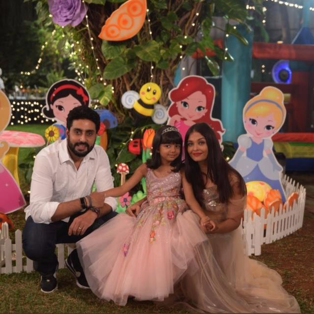 AARADHYA'S PARTY PICTURES