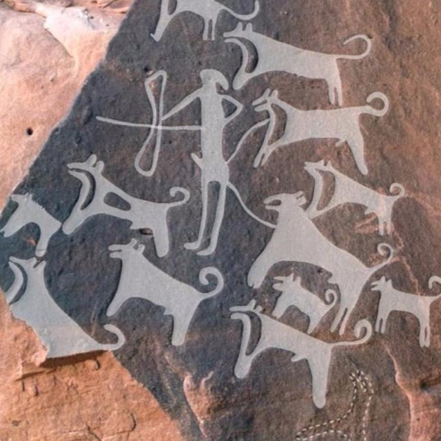 OLDEST DRAWINGS OF PET DOGS FOUND