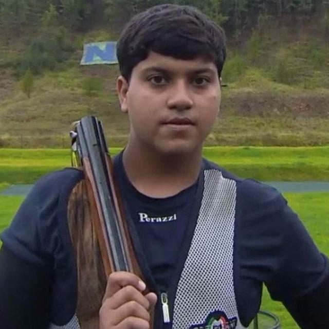 VIHAAN SHOOTS FOUR GOLD