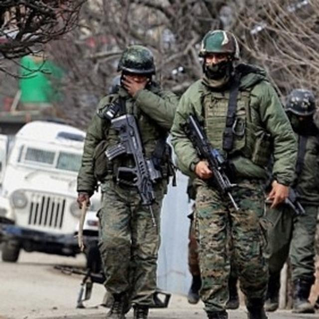 FORCES RAIN FIRE ON TERRORISTS