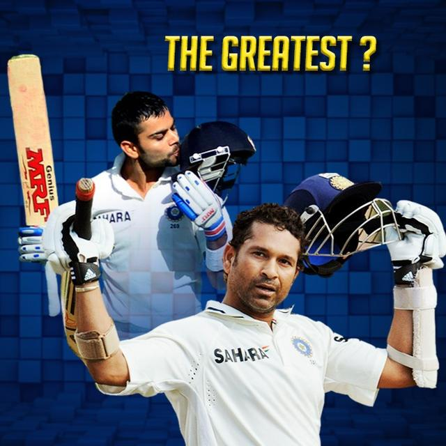 SACHIN vs KOHLI – WHO'S A STEP AHEAD?