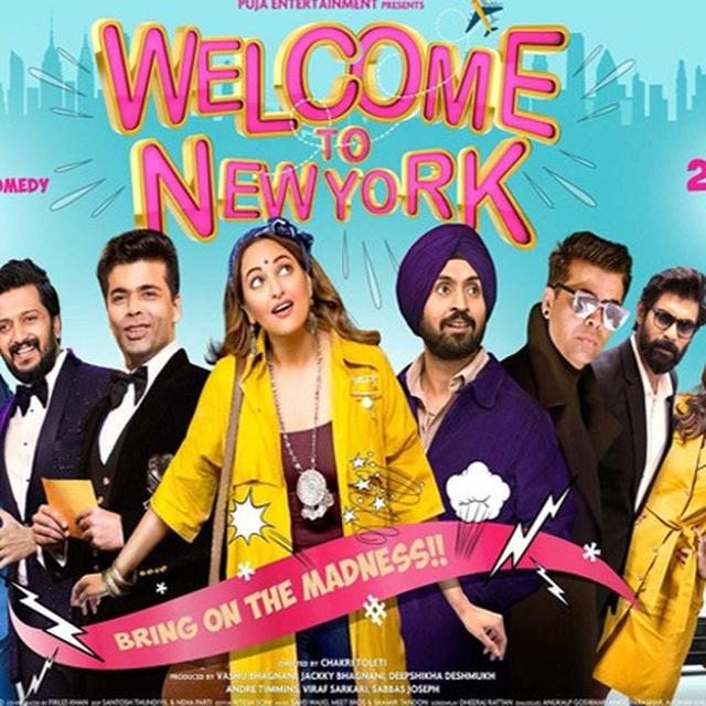 POSTER REVEALED: 'WELCOME TO NEW YORK'