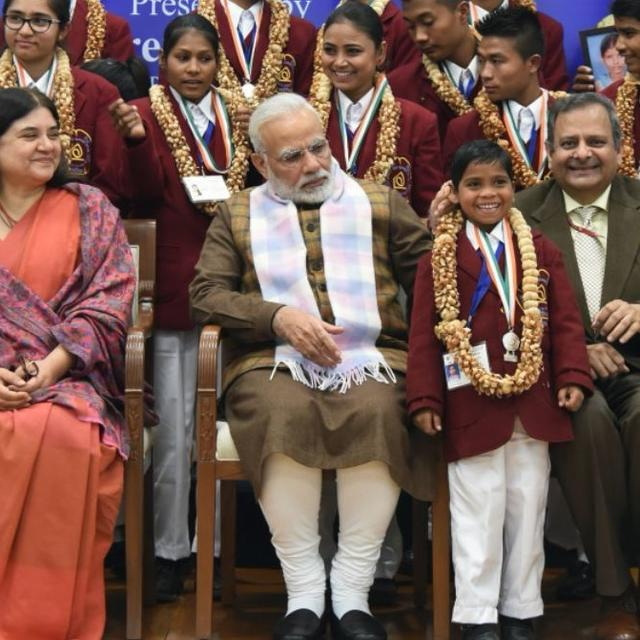 PM PRESENTS NATIONAL BRAVERY AWARDS