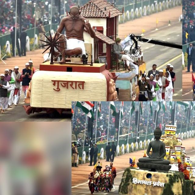 INDIA SHOWCASES CULTURAL DIVERSITY