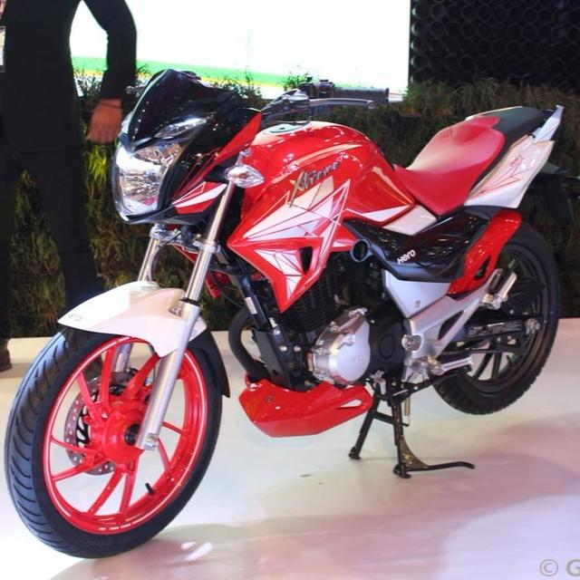 HERO UNVEILS NEW PREMIUM BIKE!