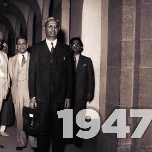 INDIA'S FIRST BUDGET IN 1947