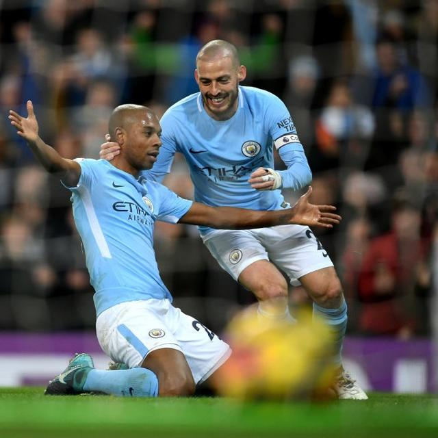 CITY RUNNING AWAY WITH THE TITLE