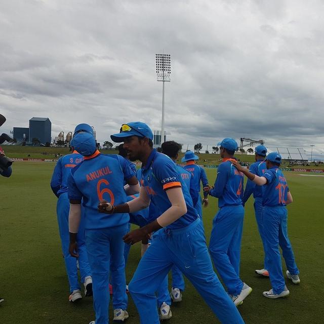 U19 WORLD CUP CHAMPIONS, INDIA!