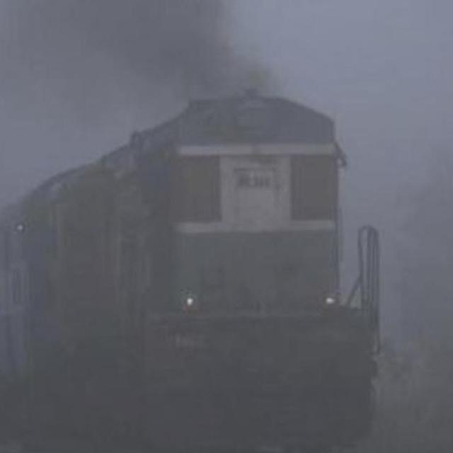 TRAIN SERVICES EFFECTED IN DELHI
