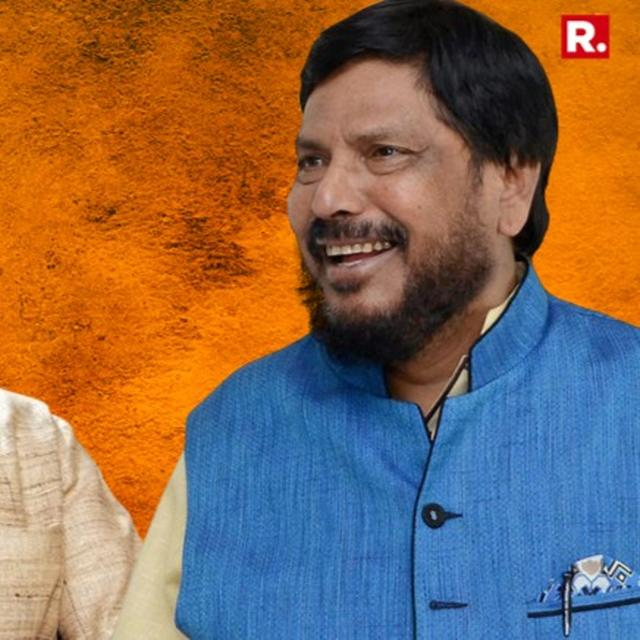 रामदास अठावले ने दिए संकेत, एक बार फिर शिवसेना और BJPमें हो सकताहै गठबंधन