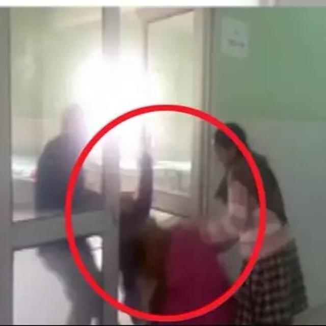 WATCH: PATIENT THRASHED BY HOSPITAL STAFF