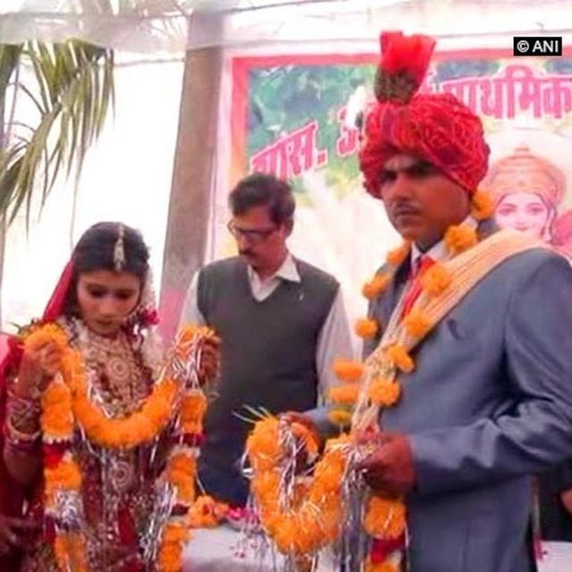 SCHOOL TEACHERS FUND WEDDING IN MP