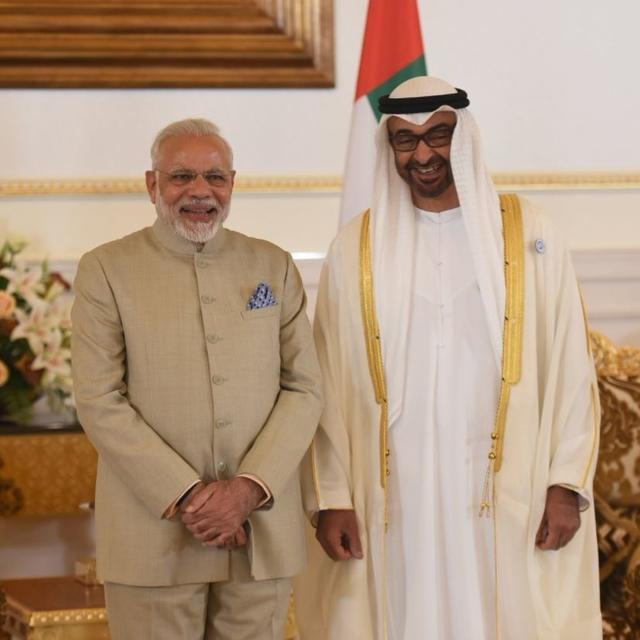 INDIA- UAE INK 5 PACTS