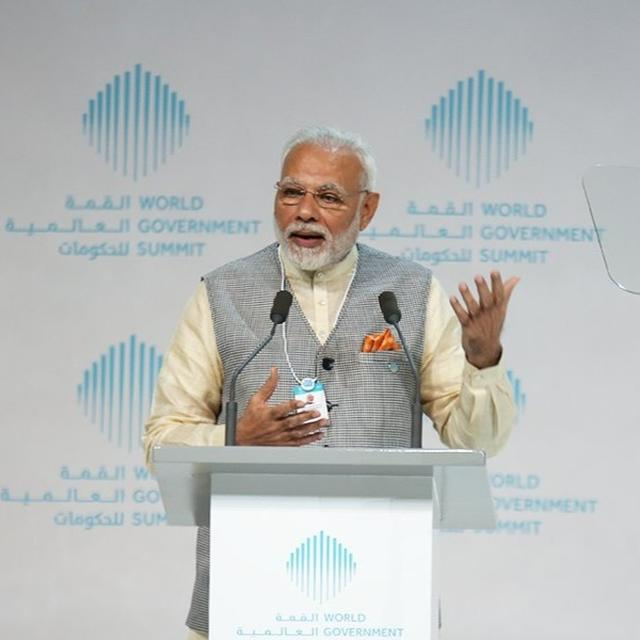 PM MODI: TECHNOLOGY HAS EMPOWERED COMMON MAN